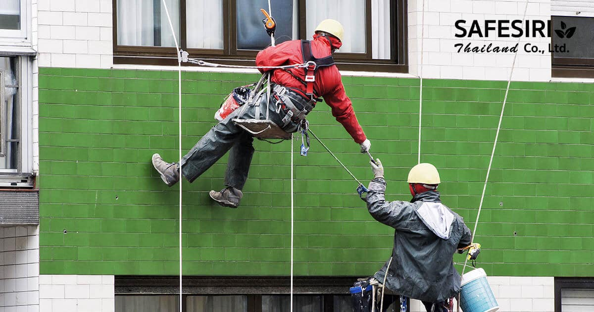 Abseiling working at heights content
