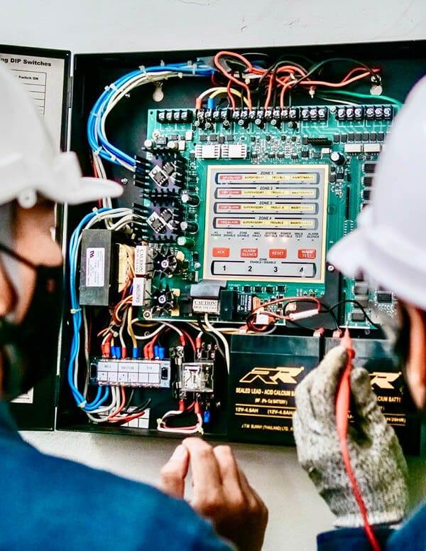 Signal-pc control cabinet