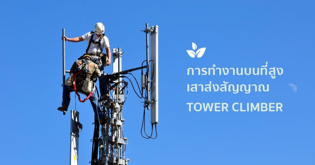 Course for working at heights, transmission towers