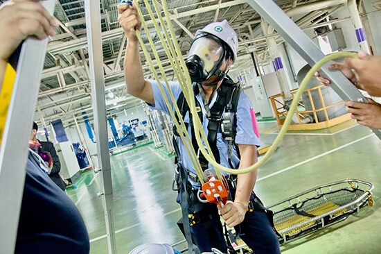 Confined Space Training 2020 Rescue