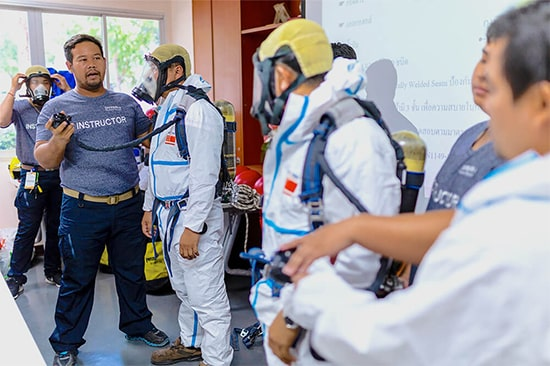 Confined Space Training - PTT 63