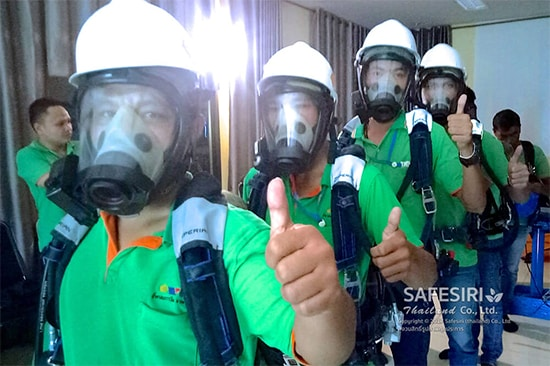 Confined space training for 4 people 2020